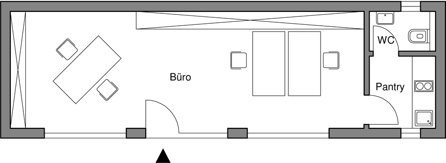 Büro Großraum
